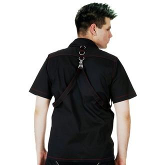 Camicia Uomo DEAD THREADS - Blk / Rosso, DEAD THREADS