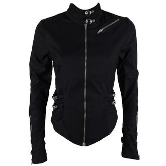 camicia donna Nero Pistol - Buckle Blouse Denim Nero, BLACK PISTOL