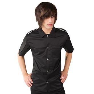 camicia uomo Aderlass - Army Shirt Denim Nero, ADERLASS