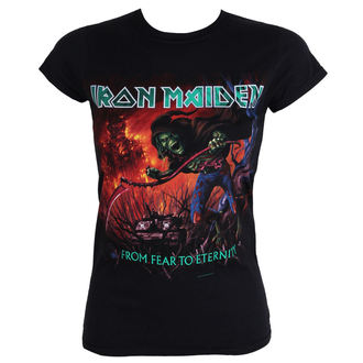 t-shirt metal donna Iron Maiden - - ROCK OFF, ROCK OFF, Iron Maiden
