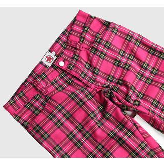 pantaloni Nero Pistol - Hipster Tartan Pink