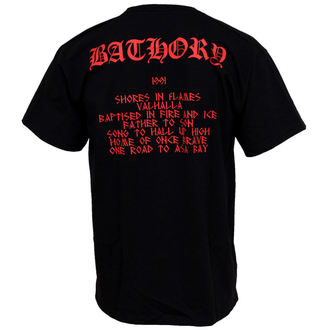 t-shirt metal Bathory - Hammerheart - PLASTIC HEAD, PLASTIC HEAD, Bathory