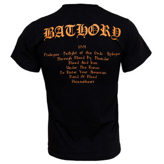 t-shirt metal uomo Bathory - Twilight Of The Gods - PLASTIC HEAD, PLASTIC HEAD, Bathory
