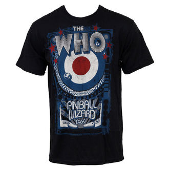 t-shirt metal Who - Pinball - LIQUID BLUE, LIQUID BLUE, Who