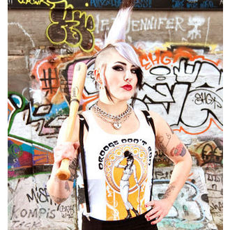 top donna Crime City Clothing - Drughi Non Corsa, CRIME CITY CLOTHING