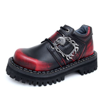scarpe KMM 4-dírky - Big Skulls Nero Red Monster 1P, KMM