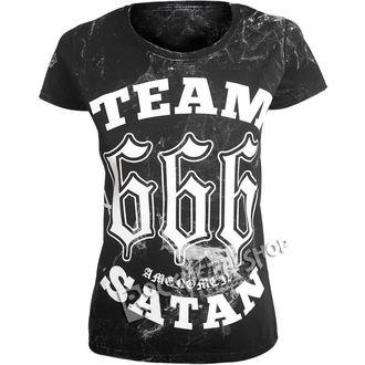 t-shirt hardcore donna - TEAM SATAN - AMENOMEN, AMENOMEN