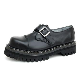 scarpe KMM 3dírkové - Nero con fibbia, KMM