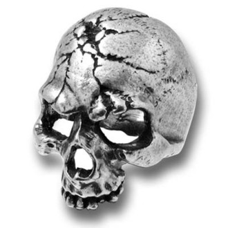 anello Ruination Skull ALCHEMY GOTHIC - R174