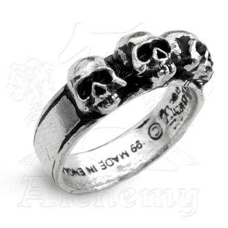 anello Caput Mortum - ALCHEMY GOTHIC - R72