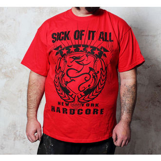 t-shirt metal uomo Sick of it All - HC Crest - Buckaneer, Buckaneer, Sick of it All