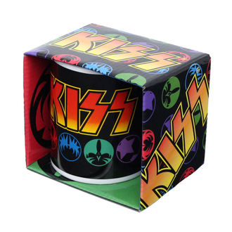 tazza KISS - Maschere, ROCK OFF, Kiss