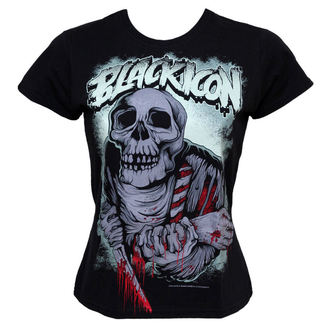 t-shirt hardcore donna - Eat - BLACK ICON, BLACK ICON