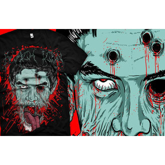 t-shirt hardcore uomo - Face - BLACK ICON, BLACK ICON
