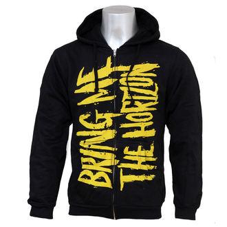 felpa con capuccio uomo Bring Me The Horizon - BMTH Logo - BRAVADO, BRAVADO, Bring Me The Horizon