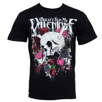 t-shirt metal uomo Bullet For my Valentine - Skull And Roses - BRAVADO, BRAVADO, Bullet For my Valentine