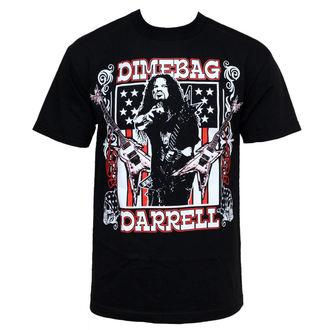 t-shirt metal uomo Dimebag Darrell - Guitar Flag - BRAVADO, BRAVADO, Dimebag Darrell