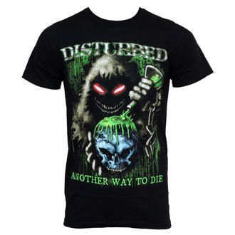 t-shirt metal Disturbed - Toxic Globe - BRAVADO, BRAVADO, Disturbed