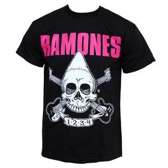 t-shirt metal uomo Ramones - Pinhead Skull - BRAVADO, BRAVADO, Ramones
