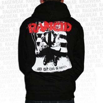 felpa con capuccio uomo Rancid - Wolves - RAGEWEAR, RAGEWEAR, Rancid