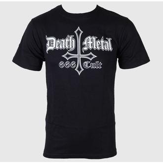 t-shirt metal uomo - Death Metal 666 Cult - Just Say Rock, Just Say Rock