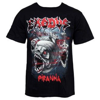 t-shirt metal uomo Exodus - Piranha - LIVE NATION, LIVE NATION, Exodus
