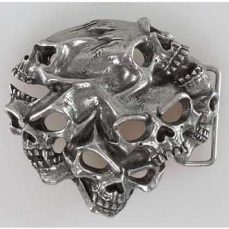 fibbia Gestalt Skull ALCHEMY GOTHIC, ALCHEMY GOTHIC