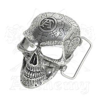fibbia Omega Skull ALCHEMY GOTHIC, ALCHEMY GOTHIC