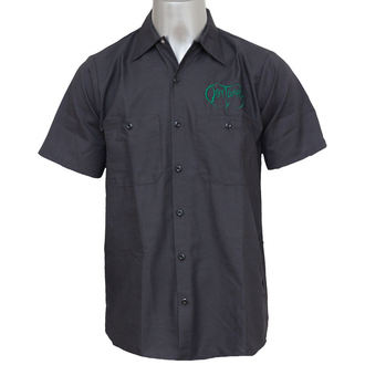 camicia uomo Obituary - EMB Logo - GRN / Charcoal - JSR, Just Say Rock, Obituary