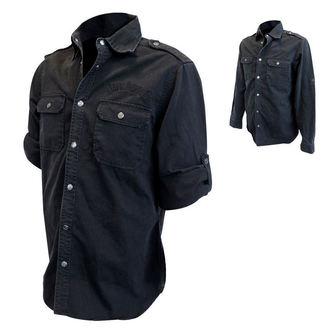 camicia uomo con maniche lunghe Jack Daniels, JACK DANIELS