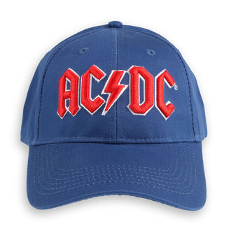 berretto  AC  /  DC  - Red Logo Mid-Blue - ROCK OFF, ROCK OFF, AC-DC