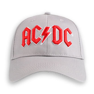 berretto  AC  /  DC  - Red Logo Grey - ROCK OFF, ROCK OFF, AC-DC