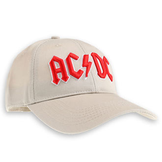 berretto  AC  /  DC  - Red Logo Sand - ROCK OFF, ROCK OFF, AC-DC