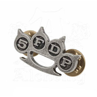 targhetta Five Finger Death Punch - Knuckle Duster - ALCHEMY GOTHIC, ALCHEMY GOTHIC, Five Finger Death Punch