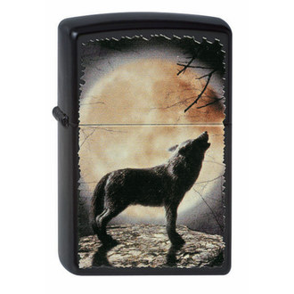 accendino ZIPPO - WOLF HOWLING TO THE MOON
