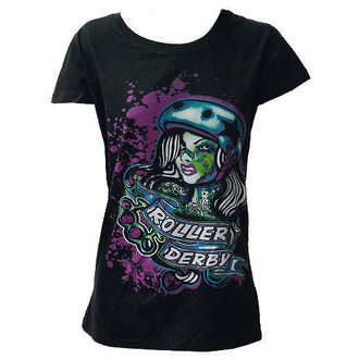 t-shirt donna - Roller Derby - DARKSIDE, DARKSIDE