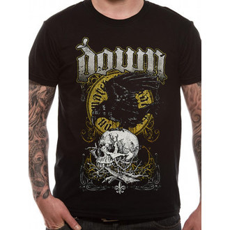 t-shirt metal uomo Down - Swamp Skull - ROCK OFF, ROCK OFF, Down
