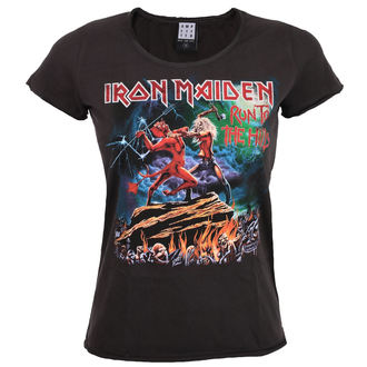 t-shirt metal donna Iron Maiden - RUN TO THE HILLS - AMPLIFIED, AMPLIFIED, Iron Maiden
