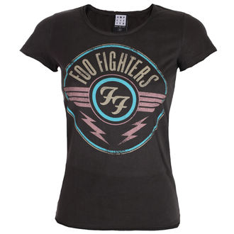 t-shirt metal donna Foo Fighters - CHARCOAL - AMPLIFIED, AMPLIFIED, Foo Fighters