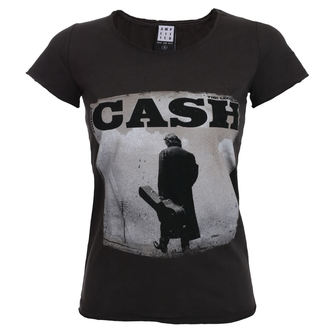 t-shirt metal donna Johnny Cash - WALKING LEGEND - AMPLIFIED, AMPLIFIED, Johnny Cash