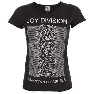 t-shirt metal donna Joy Division - UNKNOWN PLEASURES - AMPLIFIED, AMPLIFIED, Joy Division
