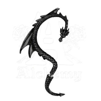 orecchini The Drago Richiamo - Nero - ALCHEMY GOTHIC, ALCHEMY GOTHIC