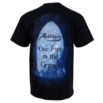 t-shirt metal uomo Artillery - One Foot In The Grave - MUSICAT, MUSICAT, Artillery