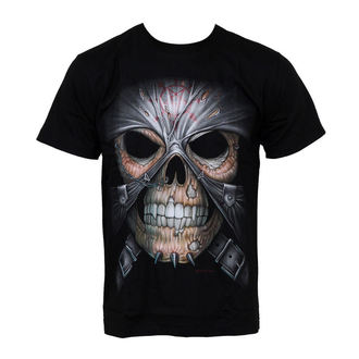 t-shirt uomo - Skull And Skin - Hero Buff, Hero Buff