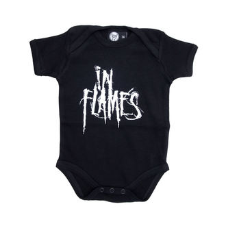 corpo bambino In Flames - Logo - Nero, Metal-Kids, In Flames