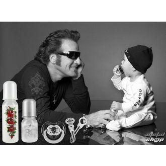 ciuccio ROCK STAR BABY - Peace, ROCK STAR BABY