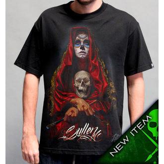 t-shirt hardcore uomo - Acuna Badge - SULLEN - SCM0138_BK
