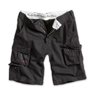 pantaloncini uomo SURPLUS - Trooper Shorts - Nero, SURPLUS