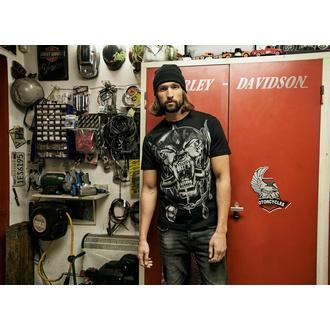 Maglietta da uomo BRANDIT Motörhead Warpig Stampa 61004-black, BRANDIT, Motörhead
