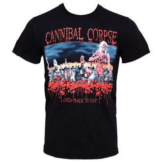 t-shirt metal uomo Cannibal Corpse - Eaten Back To Life - PLASTIC HEAD